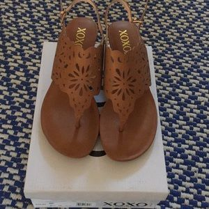 NWT in box XOXO Sandals